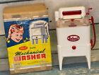 Ideal Toy Mechanical Washer Washing Machine 50s w/HAND CRANK WRINGER Vintage Toy