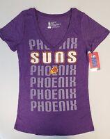 Phoenix Suns Womens Short Sleeve Mesh Burnout T-Shirt | SZ Small | NWT