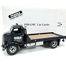 Danbury Mint 1938 Gmc Car Carrier / Flat Bed Truck (Dm) w/Box & Title Tow Truck
