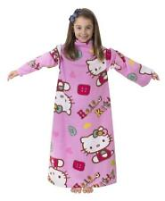 Hello Kitty Folk Sleeved Fleece Blanket, Multi-Color Gift