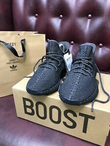 Adidas yeezy boost 350 v2 Black Reflective original casual sneakers new