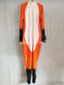 Cosplay Gummi Latex Rubber Cool Man Catsuit Full-Body Full Cover  Size:XXS~XXL