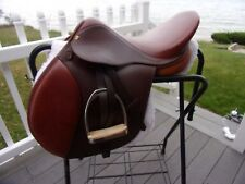 "16.5"" HDR ADVANTAGE A/P English Saddle  WITH LEATHERS & IRONS & PAD 2.5 FIT"