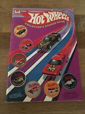 1978 Hot Wheels Collector's Sticker Book Whitman Book Mattel Stamps 2177