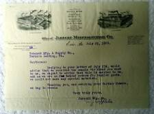 1920 Billhead Erie Pa Jarecki Manufacturing Co Brass Work Oil Gas Supplies #d16
