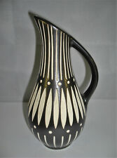 50er Keramik Vase German Pottery midcentury Piesche & Reif Kamenz DDR - signiert