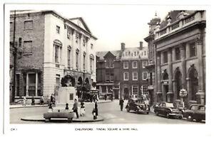 AK, Chelmsford, Essex, Tindal Square & Shire Hall, um 1955
