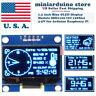 "1.3"" I2C IIC 128X64 LED OLED LCD  Display Module Arduino Blue Color SSD1106 US"