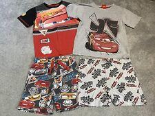 Boys Disney Cars Pyjamas Bundle Age 6-7 Years PJ Nightwear Short Sleeve Shorts