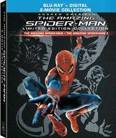 The Amazing Spider-Man 1 & 2 Limited Edition Collection Blu Ray Digi Book New
