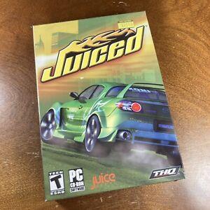 JUICED Street Car Racing Sim PC Game NEW Brand New Sealed Win 98-XP