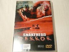 """SNAKEHEAD TERROR, HORROR DVD PAL """"NEW SEALED"""" AUZ SELLER"""