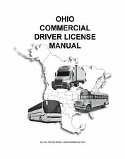 COMMERCIAL DRIVER'S MANUAL FOR CDL TRAINING (OHIO) ON CD IN PDF PROGRAM.
