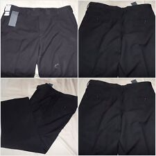 Neuf Kenneth Cole Pantalon Noir Formelle Costume Taille Wasit Jambe 38 29 coupe droite