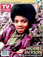 TV Guide 2009 Michael Jackson Collector's Edition Tribute CVR 2 Farrah Fawcett