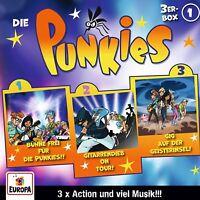 DIE PUNKIES - 01/3ER BOX (FOLGEN 1,2,3)  3 CD NEU