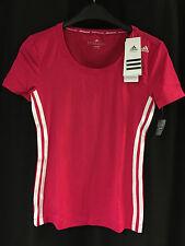 adidas Damen Shirt T-shirt Top Bluse Pink Gr.s