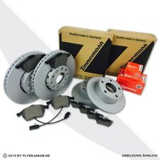 Zimmermann Freins Kit Disques De Frein + Revêtements Audi a4 (8e b6 b7) Seat Exeo (3r)