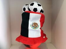 Usa and Mexico 3 Soccer Balls Plush Hats.