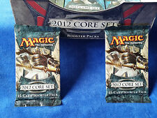 Lot of 2 MAGIC THE GATHERING 15 Card 2012 CORE SET Booster Packs NEW Sealed