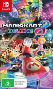 Mario Kart 8 Deluxe - Game Cartridge Only *Next Day Post* Nintendo Switch
