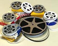 1750 Feet MOVIE FILM TRANSFERRED ~ Super 8 16mm 8mm ~ TRANSFER / COPY to a DVD