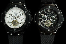 Men's Mechanical (Automatic) Silicone/Rubber Strap Watches