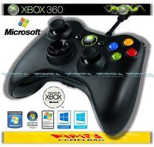 Original microsoft Câble lié Wired contrôleur USB Pad Xbox 360 et PC NEUF
