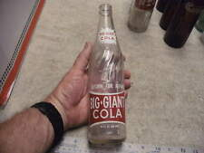 Vintage 1960's Big Giant Cola 16 oz.Soda Bottle Moultrie Ga , With Red Lettering