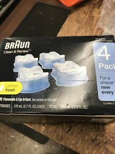 Braun CCR4 Cleaning Cartridges - 4 Pack