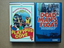 Platypus Cove / Dead Man's Float - 2 x Rare Vintage VHS Video Cassette Tapes