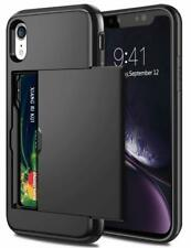 For iPhone 12 11 Pro Max Mini XS XR Shockproof Card Holder Wallet Cover Case i05