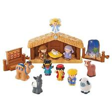 NEW Fisher Price Little People CHILDRENS NATIVITY SET 11 FIGURES Age 1-5 Manger+