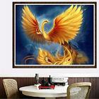 DIY 5D Diamond Painting Phoenix Embroidery Cross Stitch Home Decor Crafts