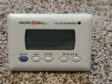Pacific Bell Call Waiting and Caller ID 2-9087A 80 Number Memory