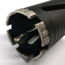 68mm Ø Profi Diamant Bohrkrone M16 + SDS Plus 10mm Turbo Dosensenker Dosenbohrer