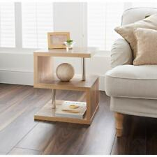 Hampton Oak 2 Tier Side Table Elegant Design -Living Room Furniture/Coffee Table