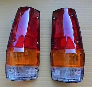 MITSUBISHI PICK UP UTE L200 2WD 4WD MODEL 1979 82 86 TAIL LIGHTS LAMPS PAIR L R