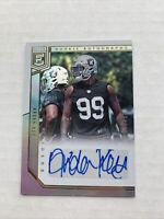 2018 Donruss Elite Arden Key Rookie Autograph /299 Oakland Raiders #RA-AK