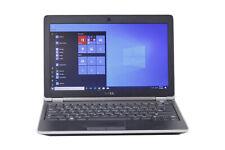 """C Grade Dell Latitude E6220 12.5"""" Intel i5 4GB RAM 320GB HDD Win 10 WiFi Laptop"""