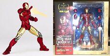 Legacy of Revoltech LR-040 Iron Man Mark VI Figure Kaiyodo Marvel Licensed New