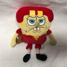 "Jakks Pacific Spongebob Squarepants Plush Football Player 9"" Tall Stuffed Toy"
