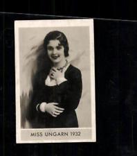 Miss Ungarn 1932 Die schönsten Frauen der Welt Zigarettenbild  ## BC 129160