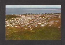 POSTCARD:  AIRVIEW:  GRAYCE'S MOBILE ESTATES - TRAILER PARK - SEBRING, FLORIDA