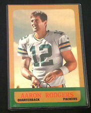 2014 Topps Oversized 5x7 AARON RODGERS (#d /99 Made) 1963 Minis 4000 Yard Club