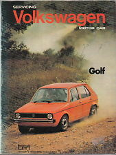 VW GOLF I proprietari di manutenzione manuale PUB. da trattore & Mechanical (Australia) nel 1976