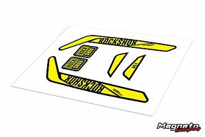 Rock Shox RS1 - Reproduction Fork Decals - Various Colours Available. MTB Bike