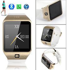 Luxury Bluetooth Smart Watch Wristwatch for Men Women Samsung Motorola LG ZTE