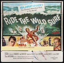 "Original Ride The Wild Surf 6 Sheet 81"" x 81"" Holy Grail class poster"