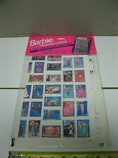 Barbie Trading Cards poster 1991